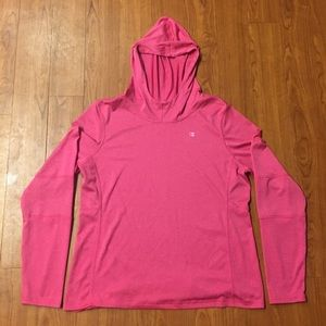 CHAMPION Powertrain Vapor Hooded Pullover Large